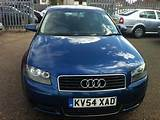 Used Audi A3 1 6 Special Edition 3 Door Hatchback Blue 2005 Petrol For