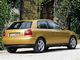 Audi A3 1 8 5v Ambition 8l 3 Door Hatchback 1996