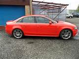 Used Audi A4 2011 Diesel 2 0 Tdi Quattro 170 Saloon Red With Cruise
