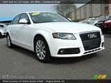 2009 Audi A4 2 0t Sedan In Ibis White Click To See Large Photo