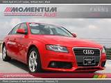 2009 Audi A4 2 0t Sedan In Brilliant Red Click To See Large Photo