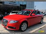 2009 Audi A4 2 0t Quattro Avant In Brilliant Red Click To See Large