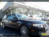 2009 Audi A4 2 0t Cabriolet In Brilliant Black Click To See Large