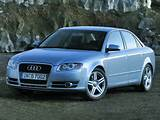 The Audi A4 3 2 Fsi Is A High Performance Car With Sporty And Muscular