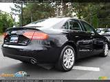 2009 Audi A4 3 2 Quattro Sedan Brilliant Black Black Photo 4