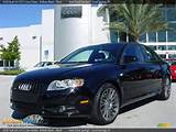 2008 Audi A4 2 0t S Line Sedan Brilliant Black Black Photo 1