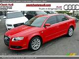 2008 Audi A4 2 0t Quattro S Line Sedan In Brilliant Red Click To See
