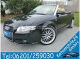 2008 Audi A4 Cabriolet 3 2 Fsi Quattro S Line Sports Package Tip
