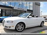 2008 Audi A4 2 0t Quattro Cabriolet In Ibis White Click To See Large