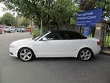 2008 08 Audi A4 2 0 Tdi S Line Convertible The First Car