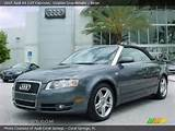 2007 Audi A4 2 0t Cabriolet In Dolphin Gray Metallic Click To See