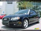 2007 Audi A4 2 0t Cabriolet In Brilliant Black Click To See Large