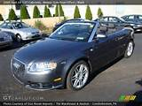 2009 Audi A4 2 0t Cabriolet In Meteor Grey Pearl Effect Click To See