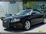 2008 Audi A4 2 0t Cabriolet In Brilliant Black Click To See Large