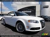 2009 Audi A4 3 2 Quattro Cabriolet In Ibis White Click To See Large