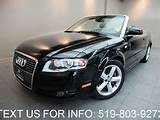2007 Audi A4 3 2 Awd Cabriolet Quattro Convertible Navigation In