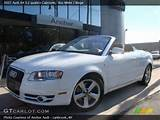 2007 Audi A4 3 2 Quattro Cabriolet In Ibis White Click To See Large