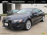 2013 Audi A5 2 0t Quattro Coupe In Moonlight Blue Metallic Photo 8