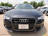 2013 Audi A5 2 0t Quattro Coupe In Moonlight Blue Metallic Photo 2