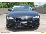 2013 Audi A5 2 0t Quattro Coupe In Phantom Black Pearl Effect Photo 2