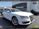 2012 Audi A5 2 0t Quattro Coupe In Ibis White Click To See Large