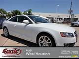 2012 Audi A5 2 0t Quattro Coupe In Glacier White Metallic Photo 5