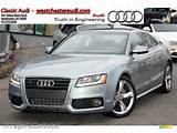 2010 A5 2 0t Quattro Coupe Monza Silver Metallic Black Photo 1