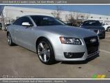 2010 Audi A5 3 2 Quattro Coupe In Ice Silver Metallic Click To See