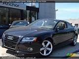 2010 Audi A5 3 2 Quattro Coupe In Brilliant Black Click To See Large