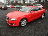 Used Audi A5 2 0 Tdi Sport 2 Door Coupe Red 2009 Diesel For Sale In Uk