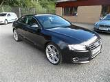 Used Black Audi A5 2008 Petrol 1 8t Fsi Sport 2dr Coupe Excellent