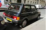 Description Autobianchi A112 Abarth Rear