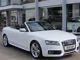 Used Audi S5 2011 Petrol Quattro 2dr S Tronic Convertible White With