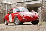Ex Team Roosevelt 1959 Fiat Abarth 750 Record Monza Bialbero Coup
