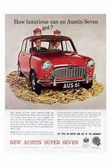 Mini Austin Seven Car Advert Print 1960s Iposters From 5 99