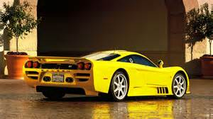 Saleen S7 Parked On The Tunnel Portal