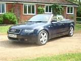 2004 Audi A4 Sport 3 0 Cabriolet Convertible Auto Blue For Sale In Uk