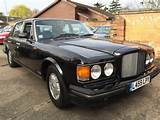 1994 L Bentley Brooklands In Black With Black Leather Sold
