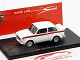 Abarth Fiat Ot 1600 Berlina 1964 White With Red Stripe 1 43 Spark