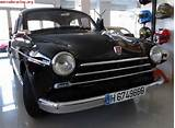 Renault Fregate Abarth Voiture Routi Re De 1954