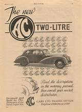 Ac 2 Litre Advert The Autocar 1947
