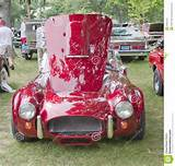 Waupaca Wi August 25 Front View Of A 1962 Ac Cobra Roadster Car At