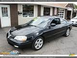 2001 Acura Cl 3 2 Type S Nighthawk Black Pearl Ebony Black Photo 1