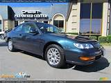 1999 Acura Cl 3 0 Cardiff Blue Green Pearl Parchment Photo 5