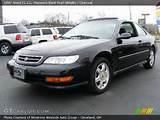 1997 Acura Cl 2 2 In Flamenco Black Pearl Metallic Click To See Large