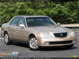 2000 Acura Rl 3 5 Sedan Naples Gold Metallic Parchment Photo 1