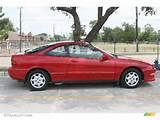 Inza Red Pearl Metallic 1997 Acura Integra Ls Coupe Exterior Photo