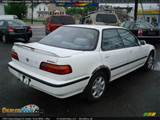 1993 Acura Integra Ls Sedan Frost White Blue Photo 5