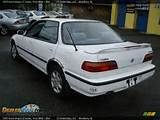 1993 Acura Integra Ls Sedan Frost White Blue Photo 7