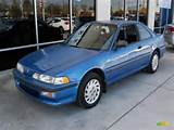 1993 Acura Integra Rs Coupe Saxony Blue Metallic Color Blue